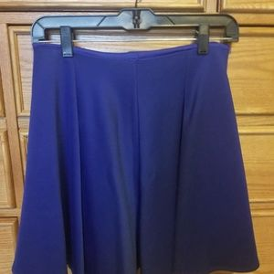 Tobi Skirts - Royal Blue High Waisted Flowy Skirt
